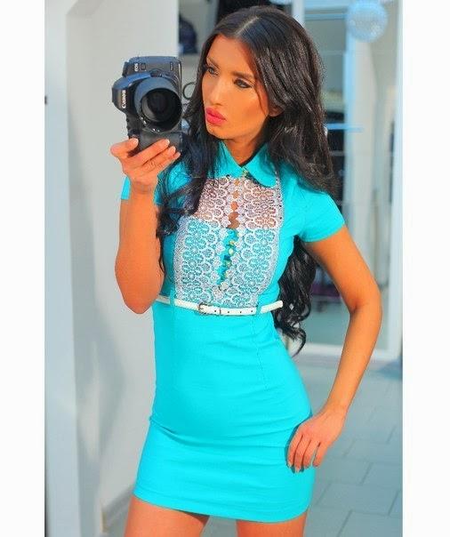 Красивые короткие платья опт SK House 024eaa375b0c2