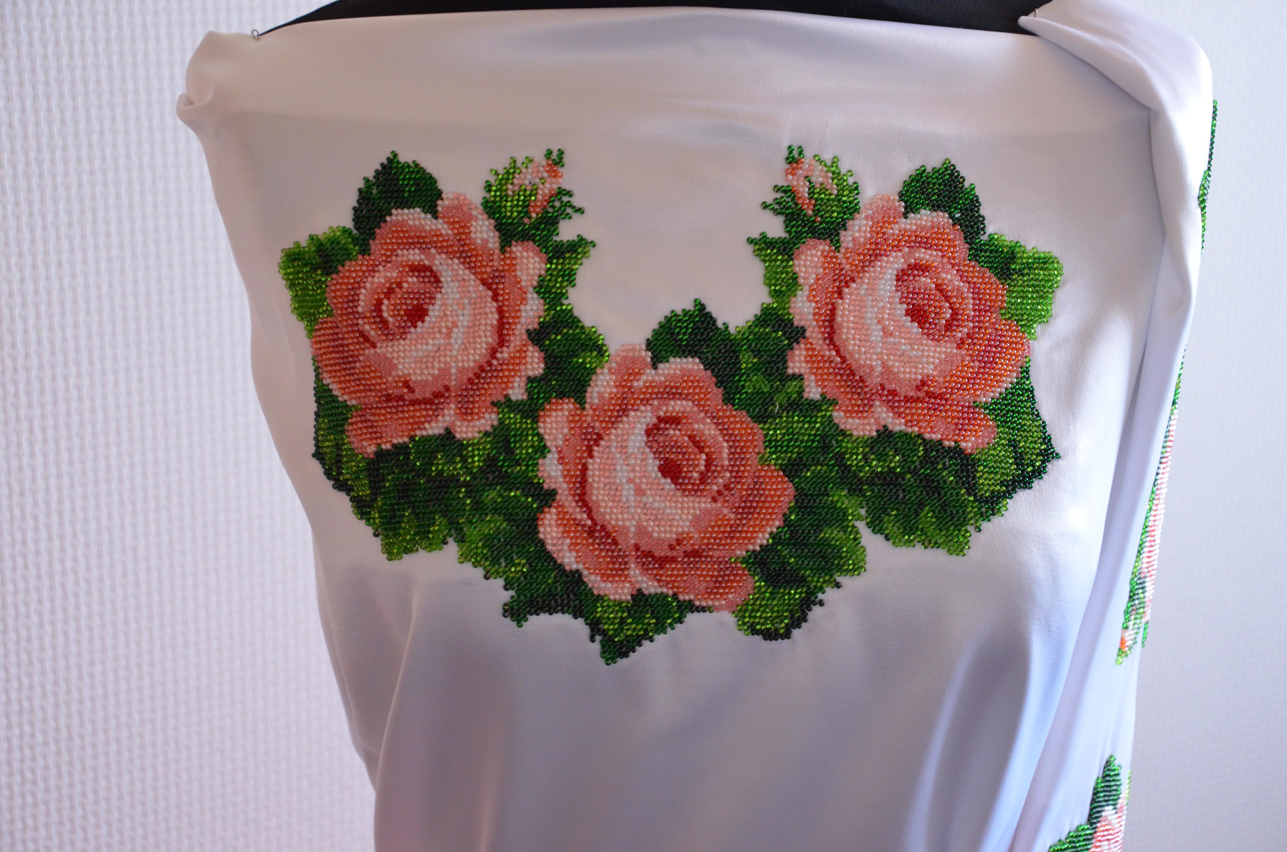 Вишита сорочка бісером СЖ - 2 - Товари - Схеми для вишивки бісером ... 1bb0806cdaed5