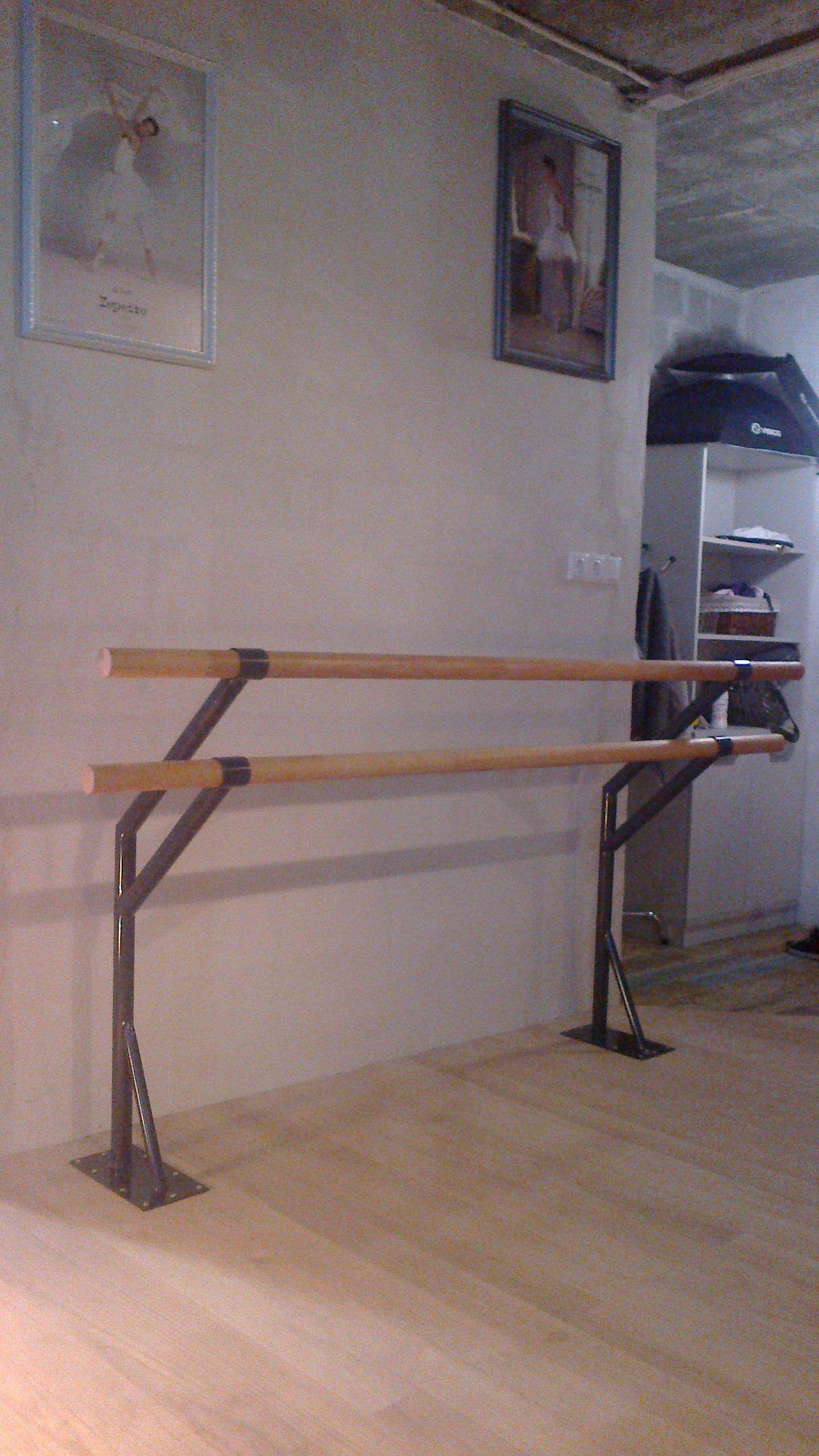 Балетный станок для домашних тренировок 86
