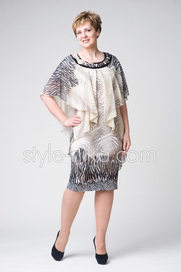 Жіноче плаття великих розмірів