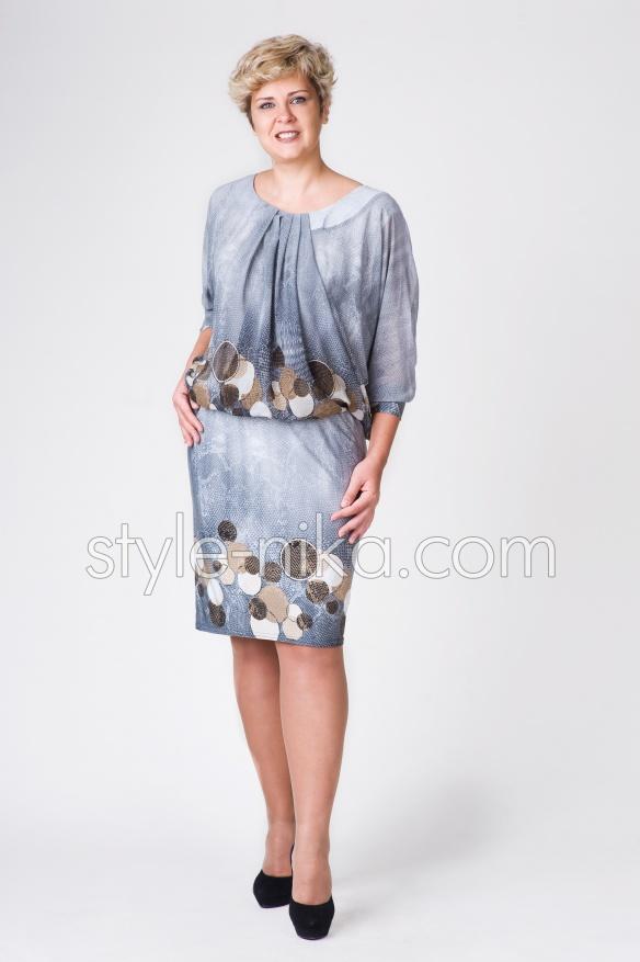 211ae4874f4e66 Жіноче плаття великих розмірів