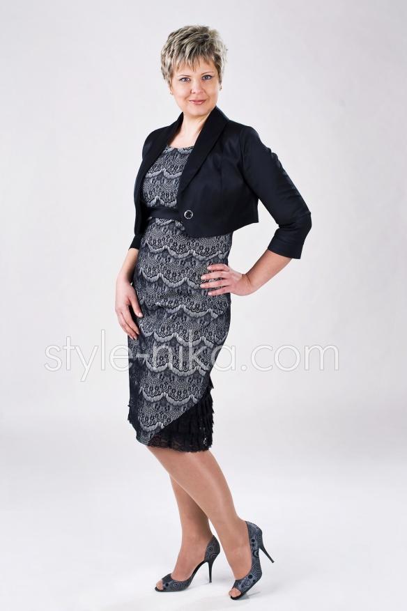 Костюм жіночий (плаття і жакет)
