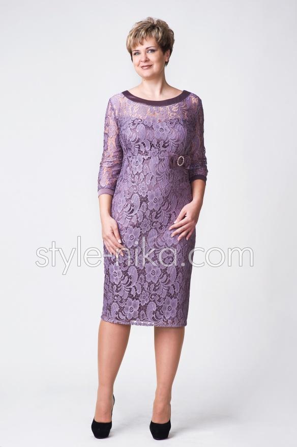 f790a5f00180e5c Стильное женское платье больших размеров
