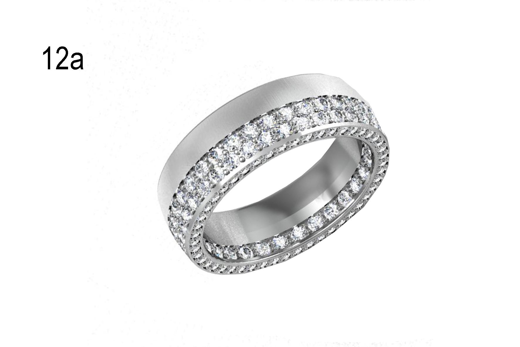 Обручки з діамантами золото 585 код 012 ціна a88ffc4e00639