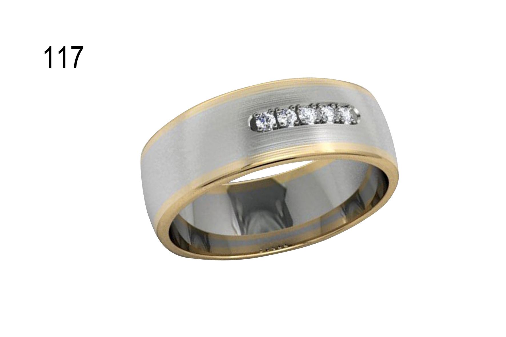 Обручки з діамантами золото 585 код 116 ціна a4ccde00fff6f