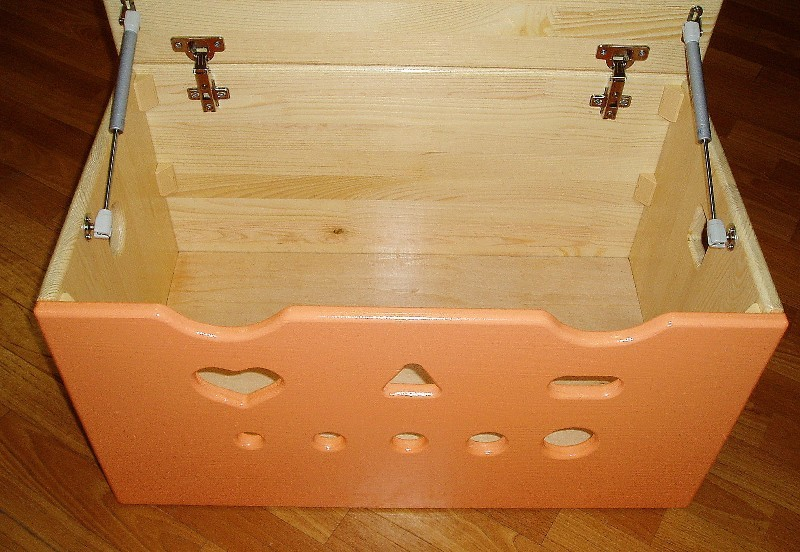 Как сделать ящик из фанеры своими руками для игрушек