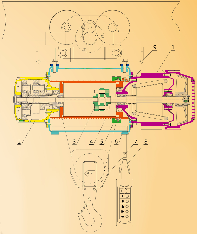 Схемы сборки электродвигателя