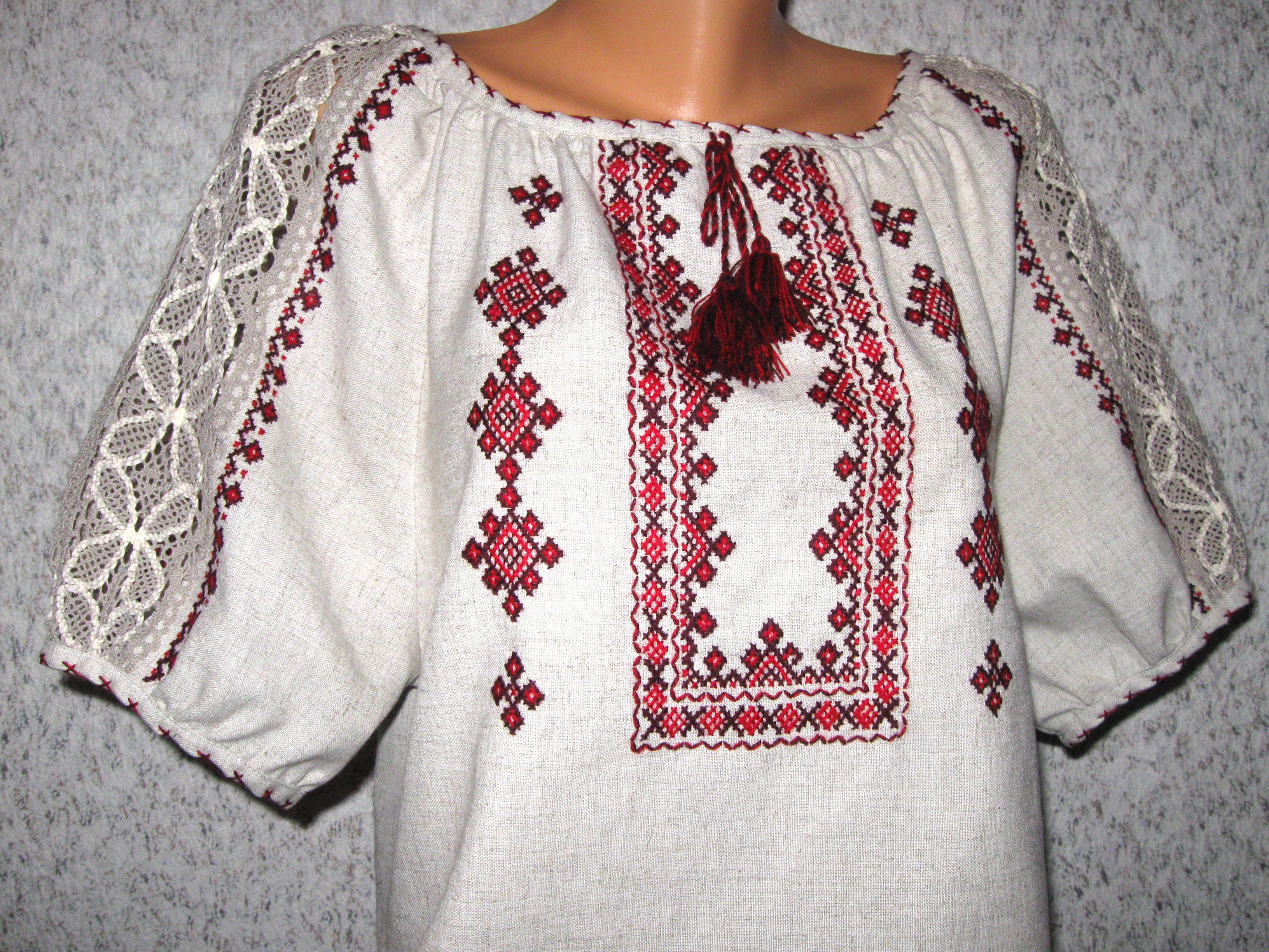 вишиванка жіноча з мереживом - Товари - Вишиванки ручної роботи від ... 1aeab166e3e2e