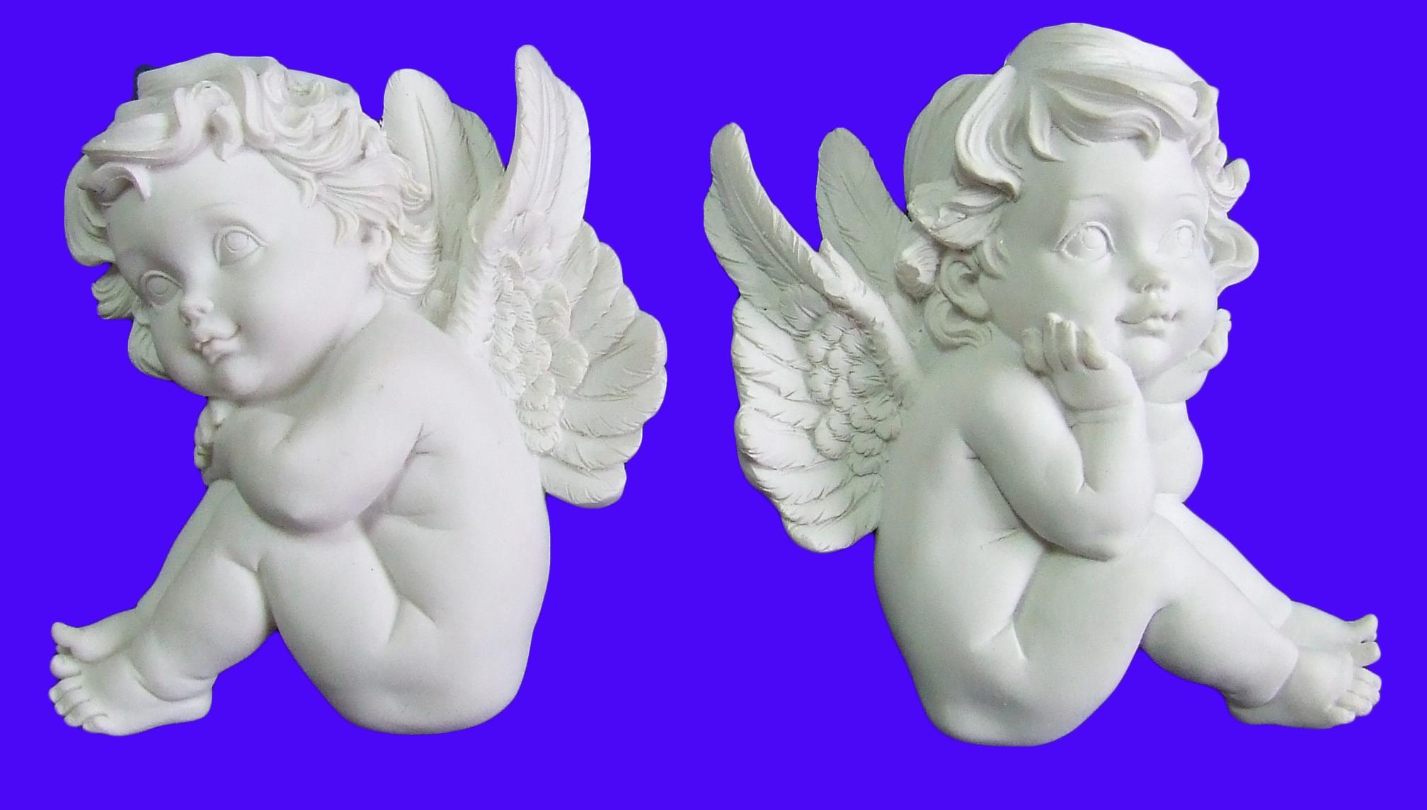 Как сделать ангела из гипса своими руками