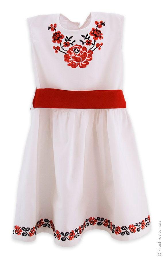 Дитяча сукня з пояском e6fd1e13c42aa