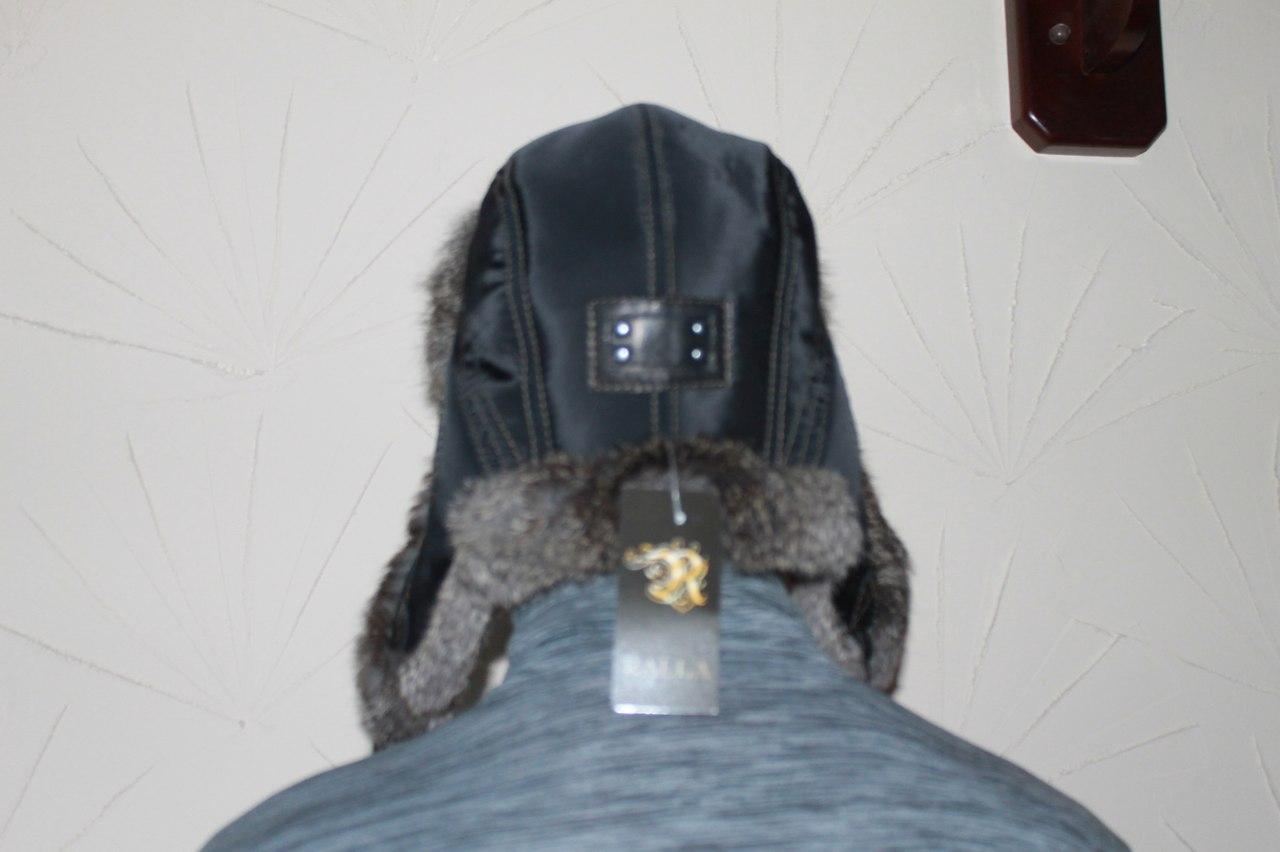 20. Чоловіча шапка-вушанка з хутра кролика ціна 0f096942b6467