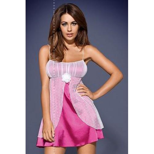 Атласна нічна сорочка Obsessive FUCSIA BABYDOLL - Товари - Польська ... be725565edad8