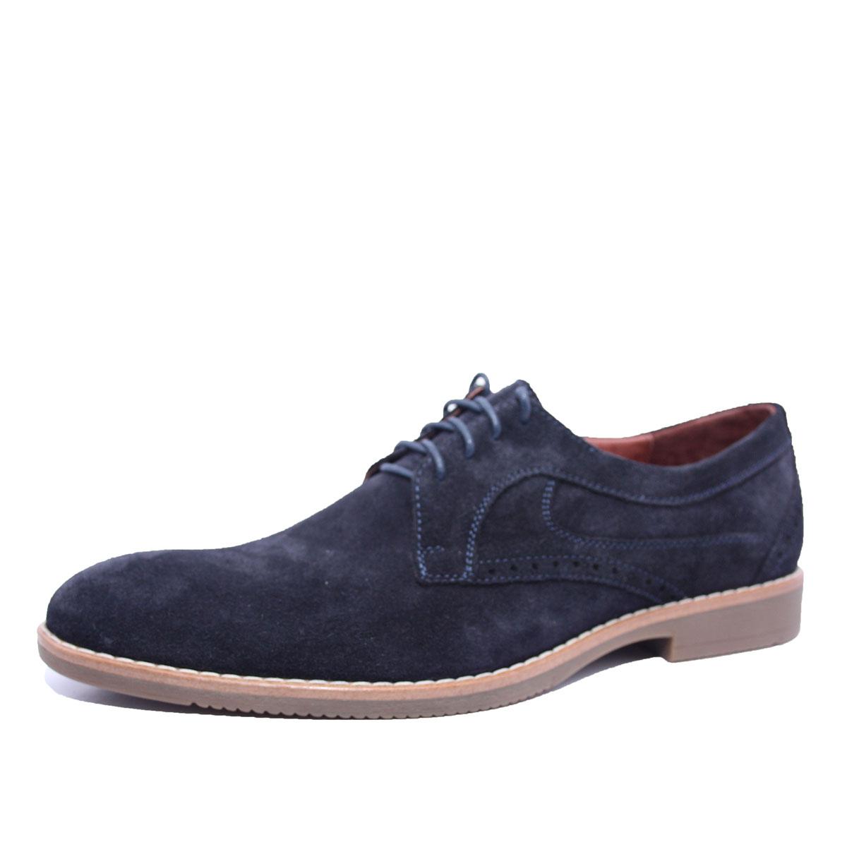 Чоловічі замшеві стильні туфлі сині 198-8 - Товари - Стильне ... 6bc349ac4cd12