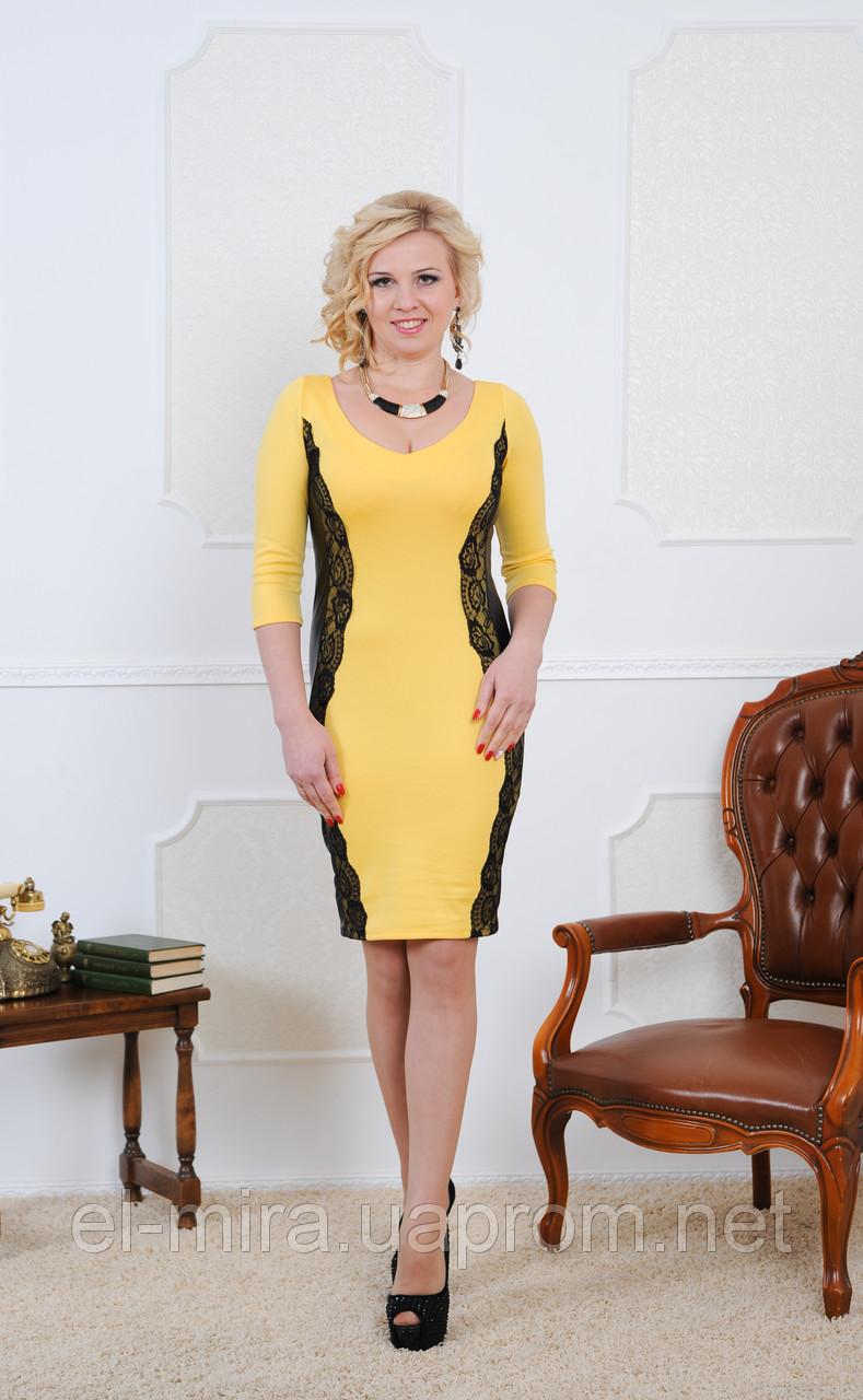 Фото платья с вставками