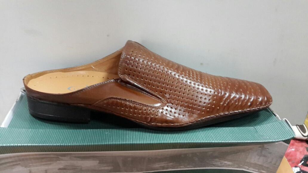 Чоловічі стильні літні туфлі р.44-46 Brown оптом ціна 8b6ea05303ba1