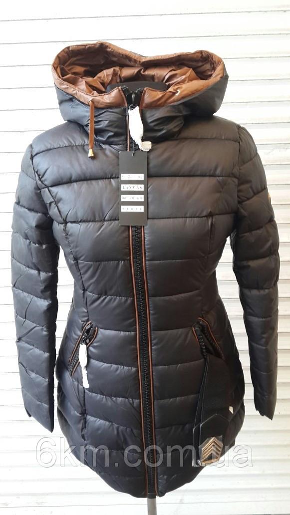 Зимова жіноча подовжена куртка Lanmas оптом - Товари - Женская ... 87b6d1ab7695b