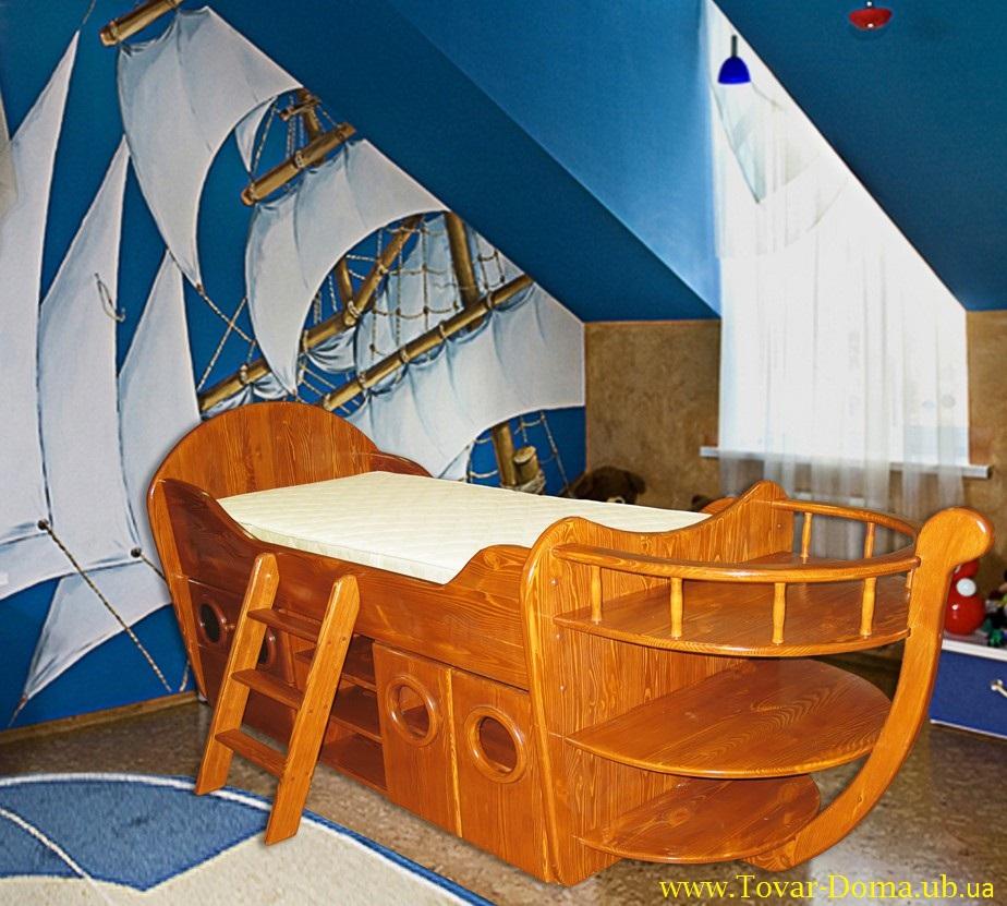 Кроватка для мальчика своими руками