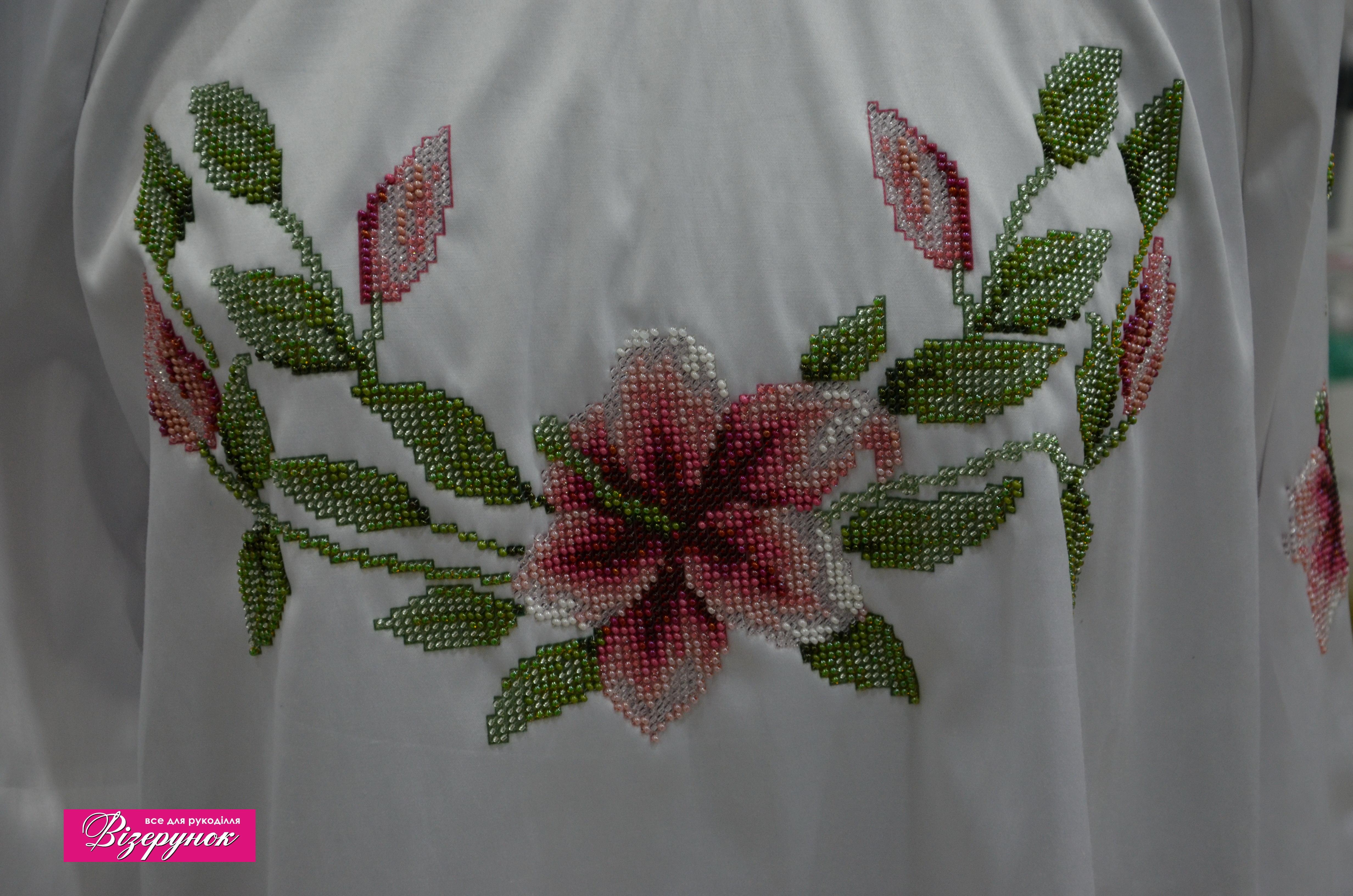 Вишита сорочка бісером БЖ-002 - Товари - Схеми для вишивки бісером ... 55cf74a129f53