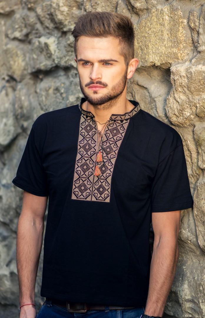 Чоловіча футболка з вишивкою ціна 1824822758727