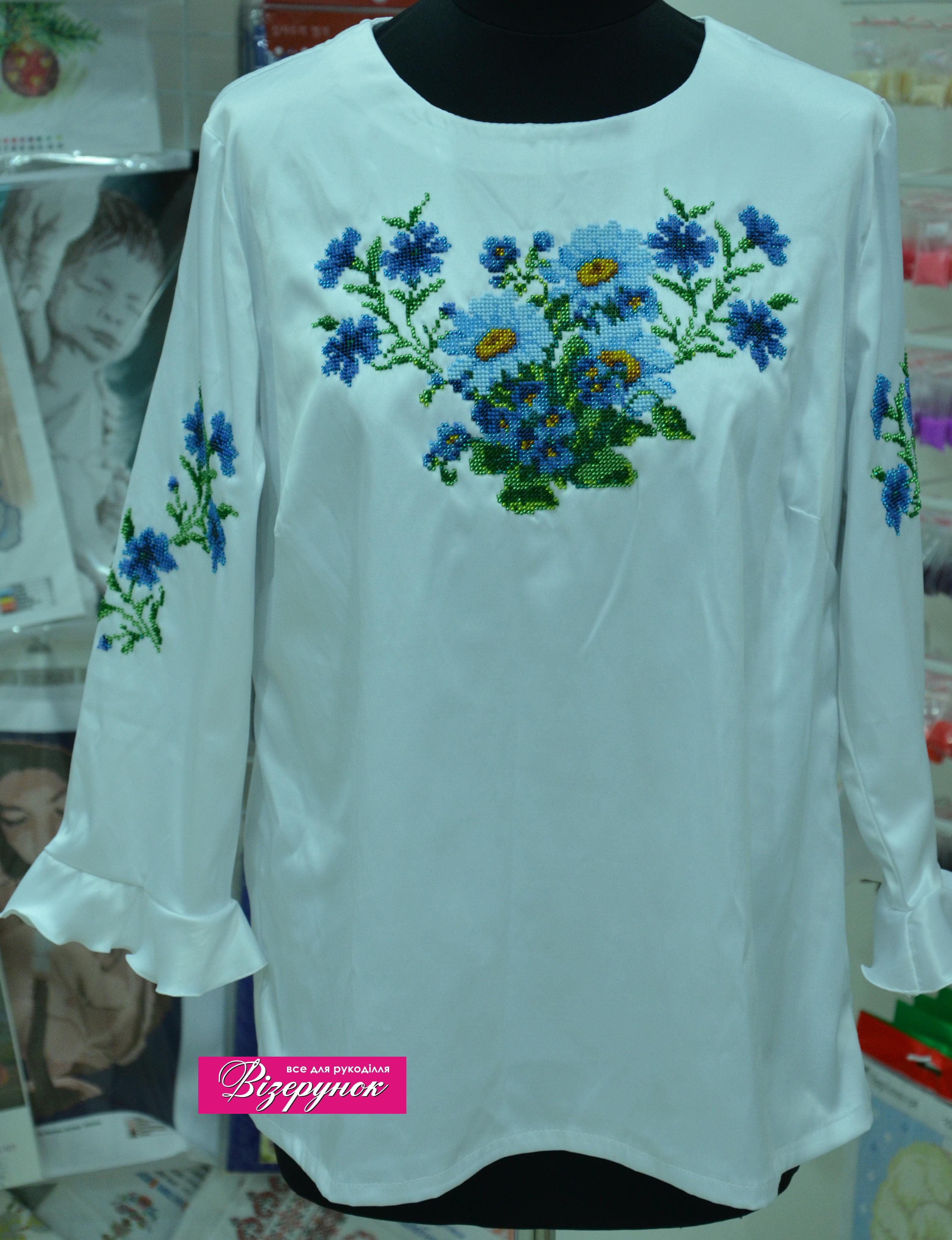 Вишита сорочка бісером БЖ-019 - Товари - Схеми для вишивки бісером ... b842929eebe22