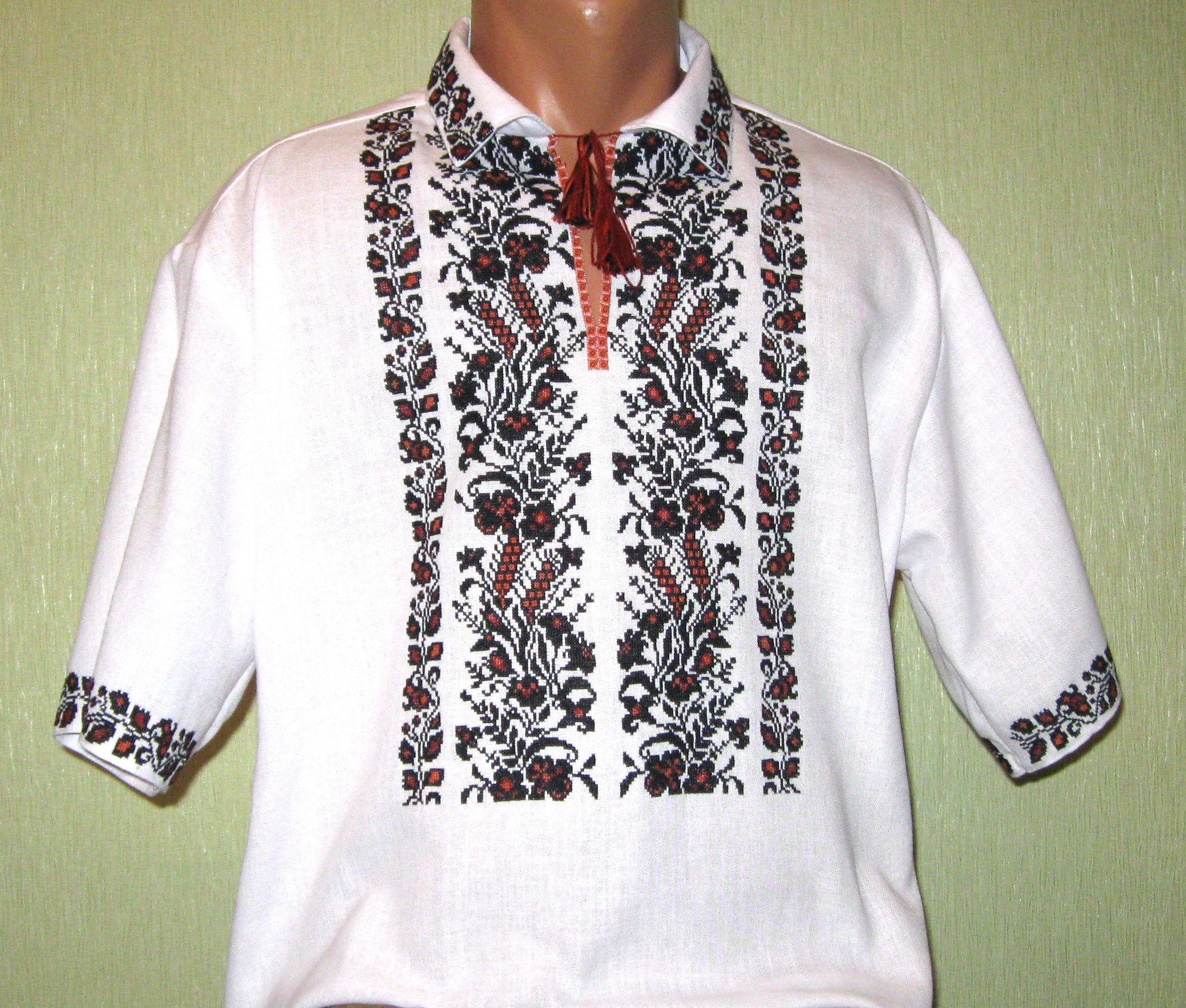 современная вышиванка ручной работы мужская - Товары - Вишиванки ... 9d20959e5953b