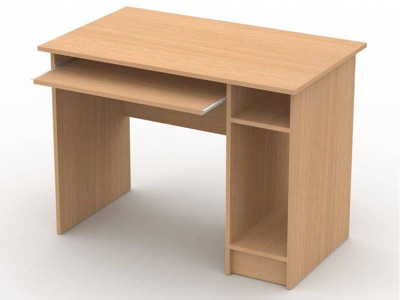 Стол компьютерный с системным блоком - товары - производство.