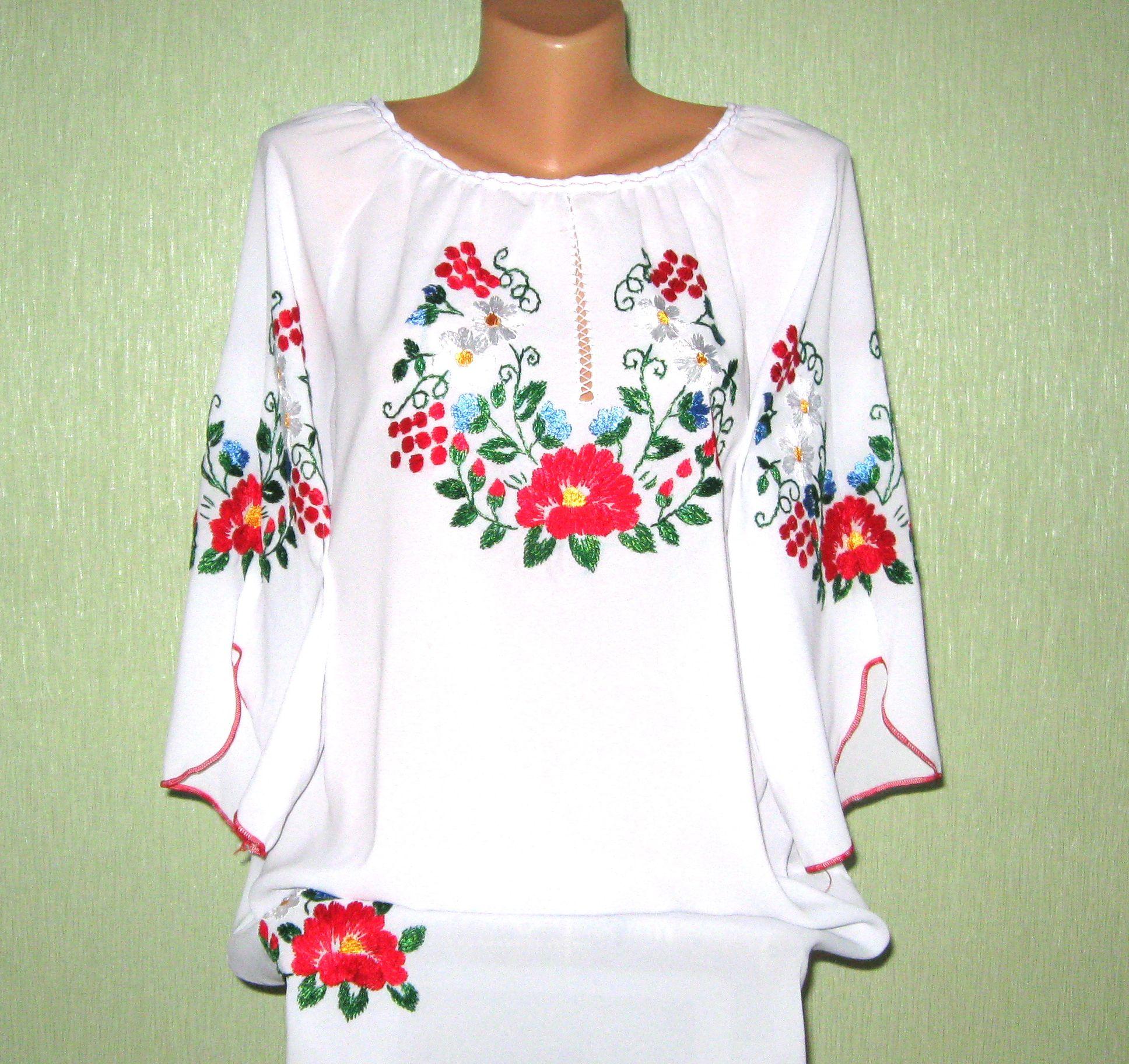 2ea30b3a5cb7ec Жіночі вишиванки ручної роботи від