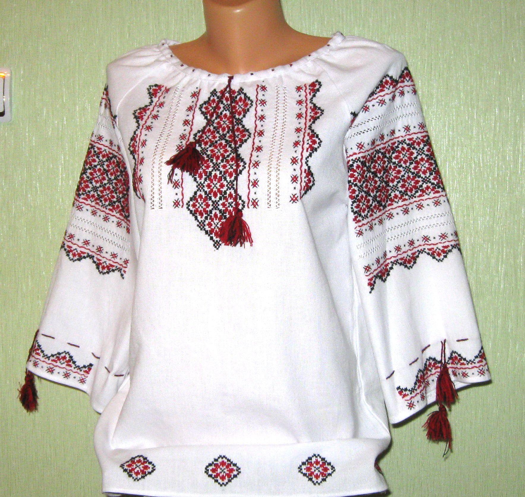 вишиті сорочки жіночі фото ручна робота