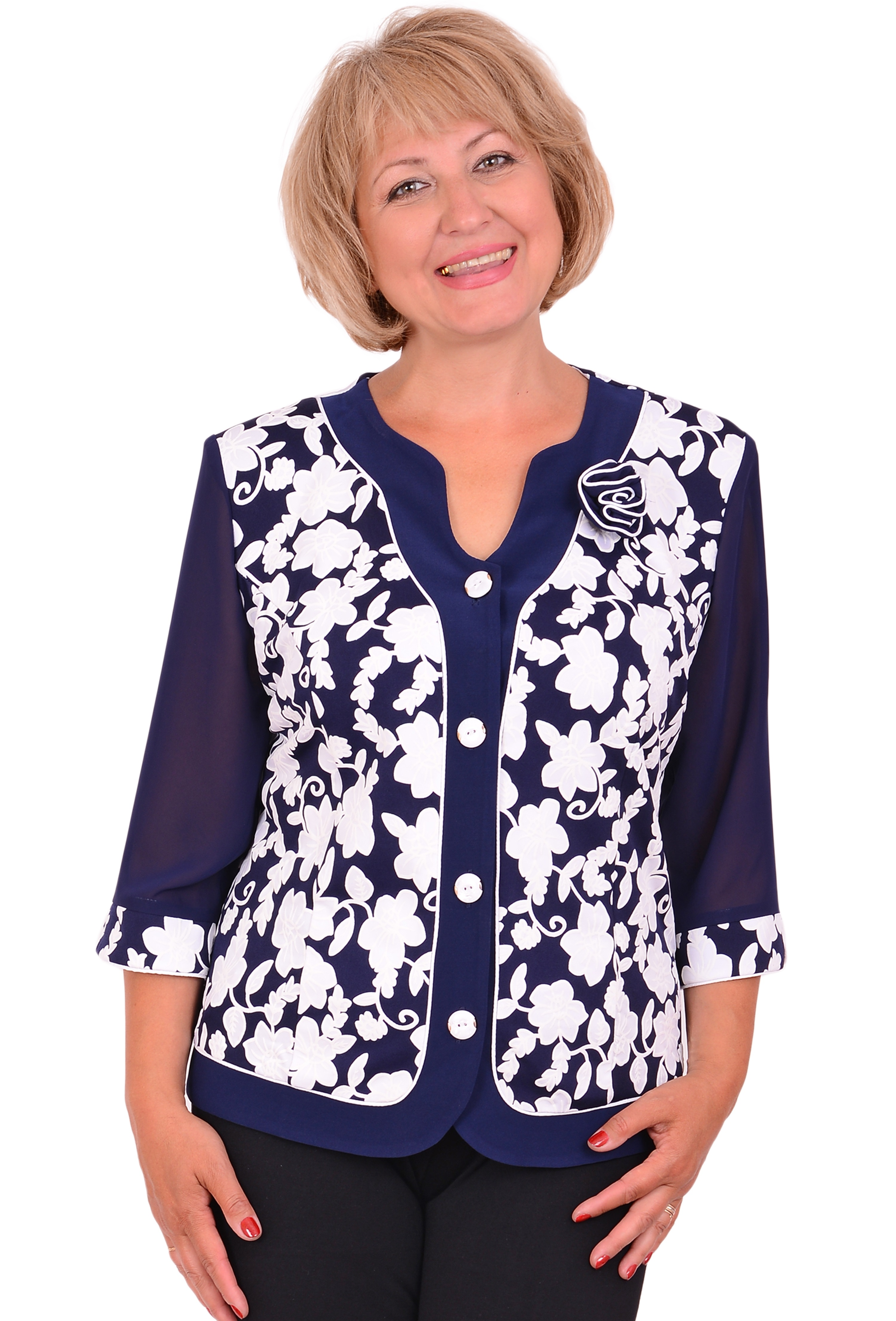 Купить Красивые Блузки Больших Размеров С Доставкой