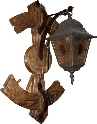 Уличный светильник под старину своими руками