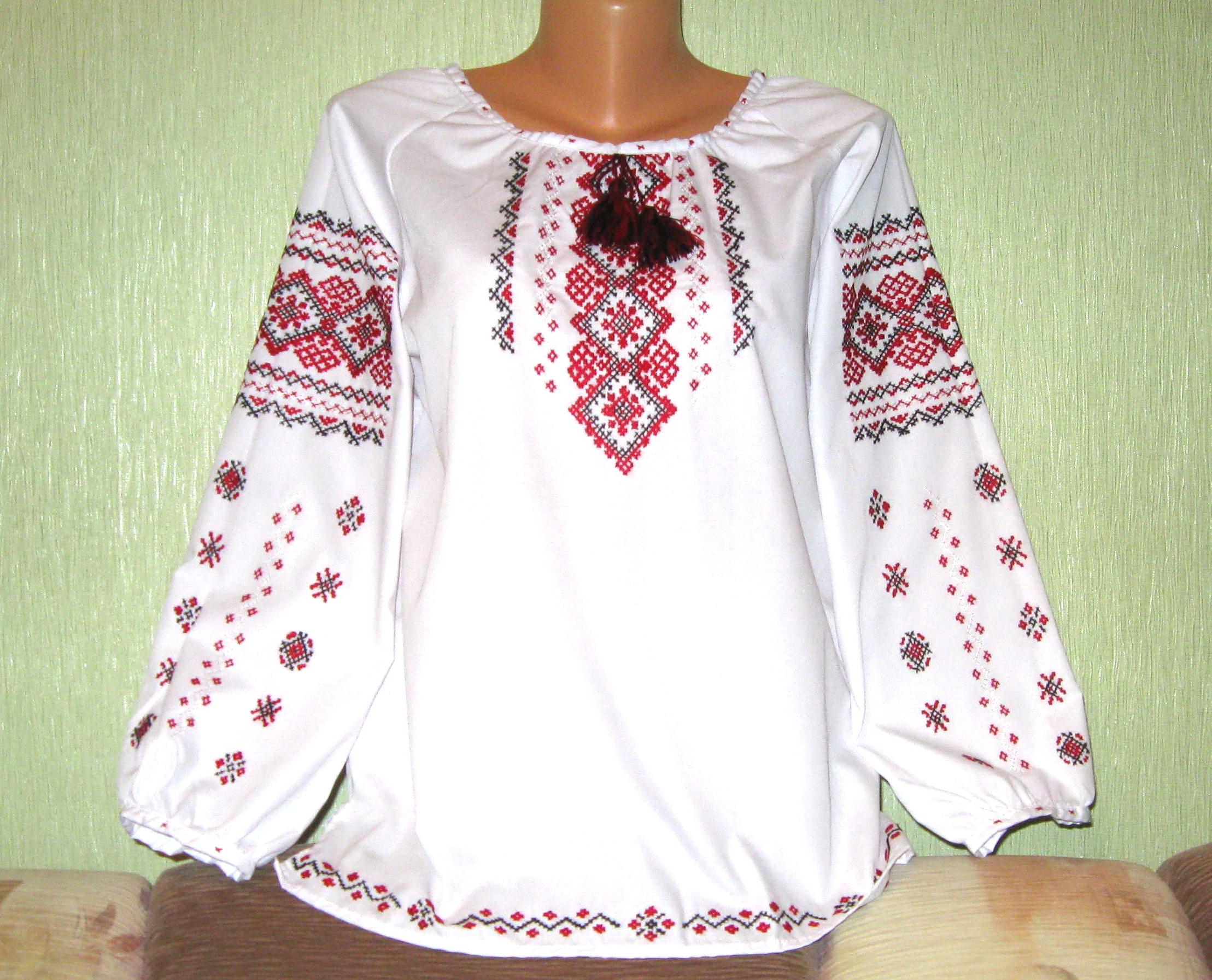 готова вишиванка ручної роботи для дівчини ціна 4e15a43633306