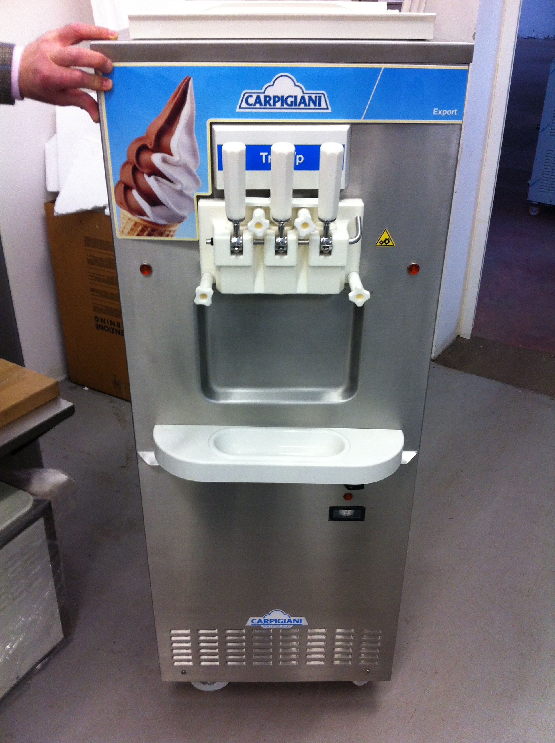 Soft Ice Cream Machine Carpigiani Tre Bp Quot Refurbished