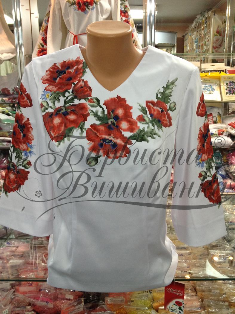 Схемы вышивки блузок бисером