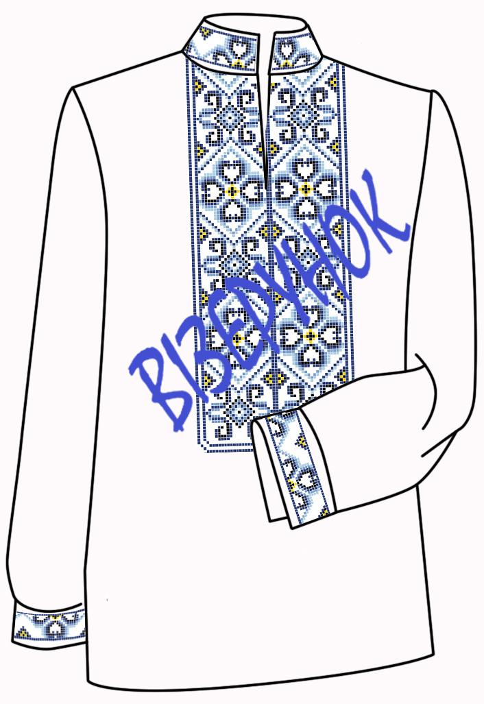 Схемы для вышивки бисером на рубашке