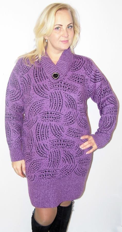 65b9f3d6109cca Вязане плаття туніка великих розмірів - Товари - Купити стильні ...