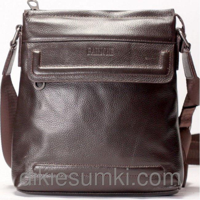Чоловіча сумка на плечі шкіряна коричневого кольору - Товари ... 14ad57c6cfdae