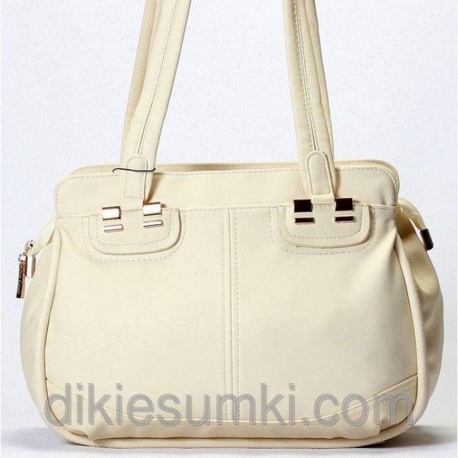 ff1c77dd61e0 Женская сумка Gilda Tohetti бежевая - Товары - Интернет-магазин ...