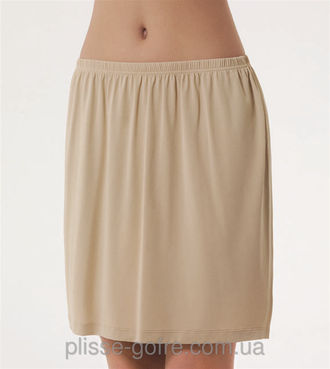 Как сшить нижнюю юбку прямую