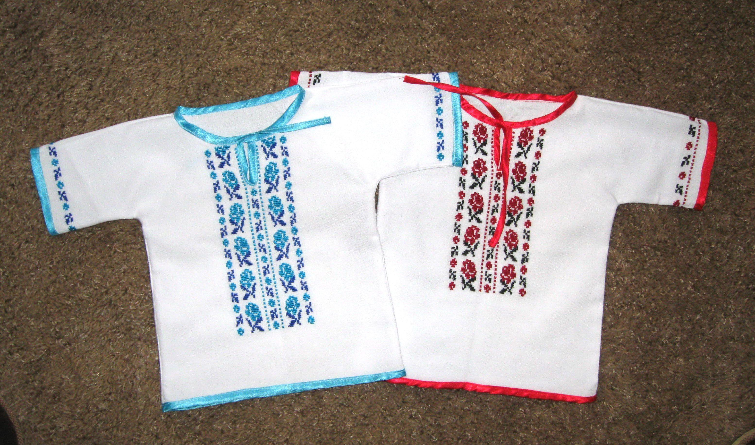 Украинская вышиванка своими руками. Фото, видео, схемы и узоры 6