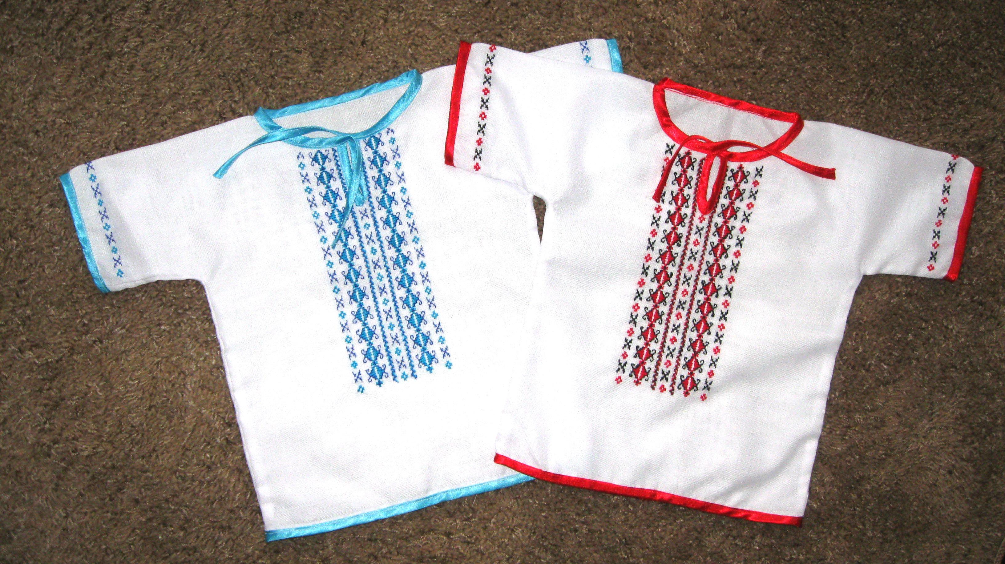 Украинская вышиванка своими руками. Фото, видео, схемы и узоры 29
