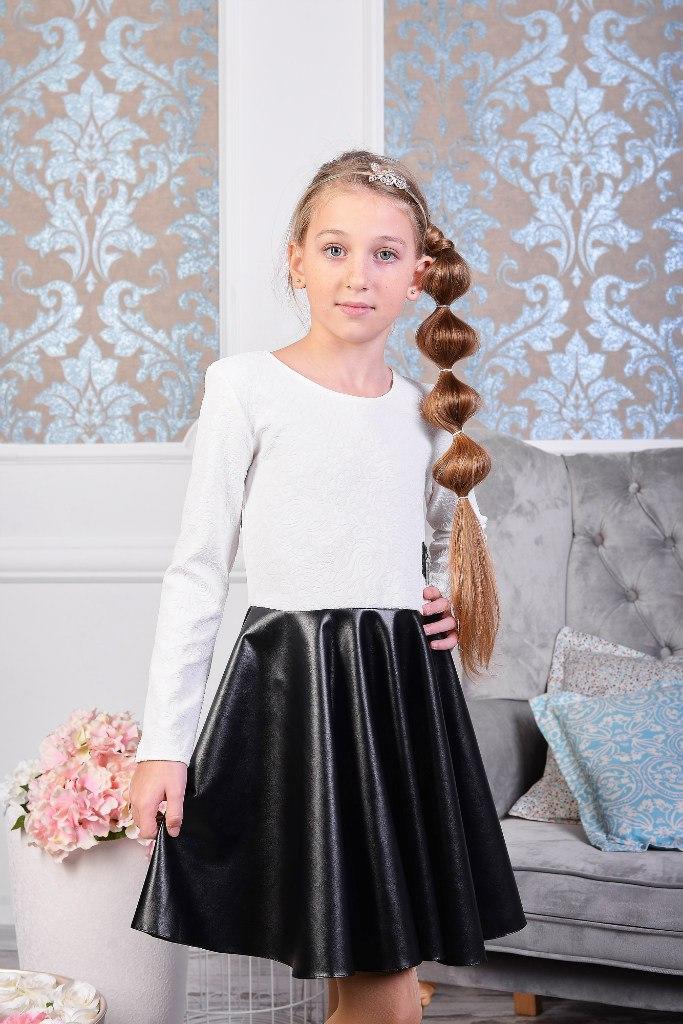 Платье колокольчик для девочек