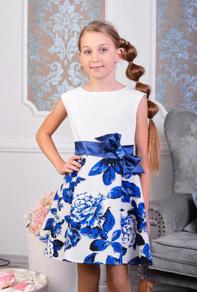 Детское платье с неопрена