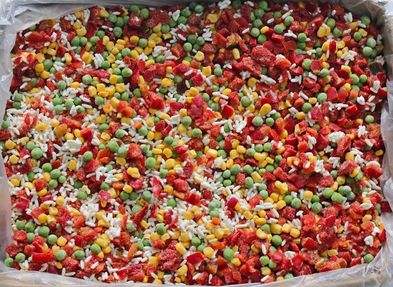 Замороженная овощная смесь своими руками 150