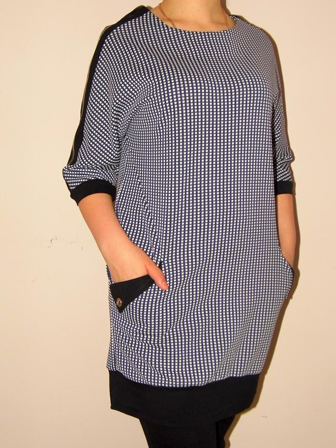 Жіноча туніка великого розміру 553 - Товари - Купити стильні сукні ... 3e8afaffc4491