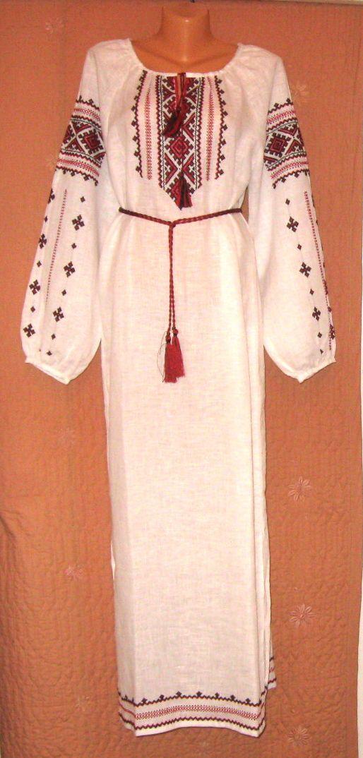 сукня вишита ручної роботи довга - Товари - Вишиванки ручної роботи ... 7f14d549fe0a3