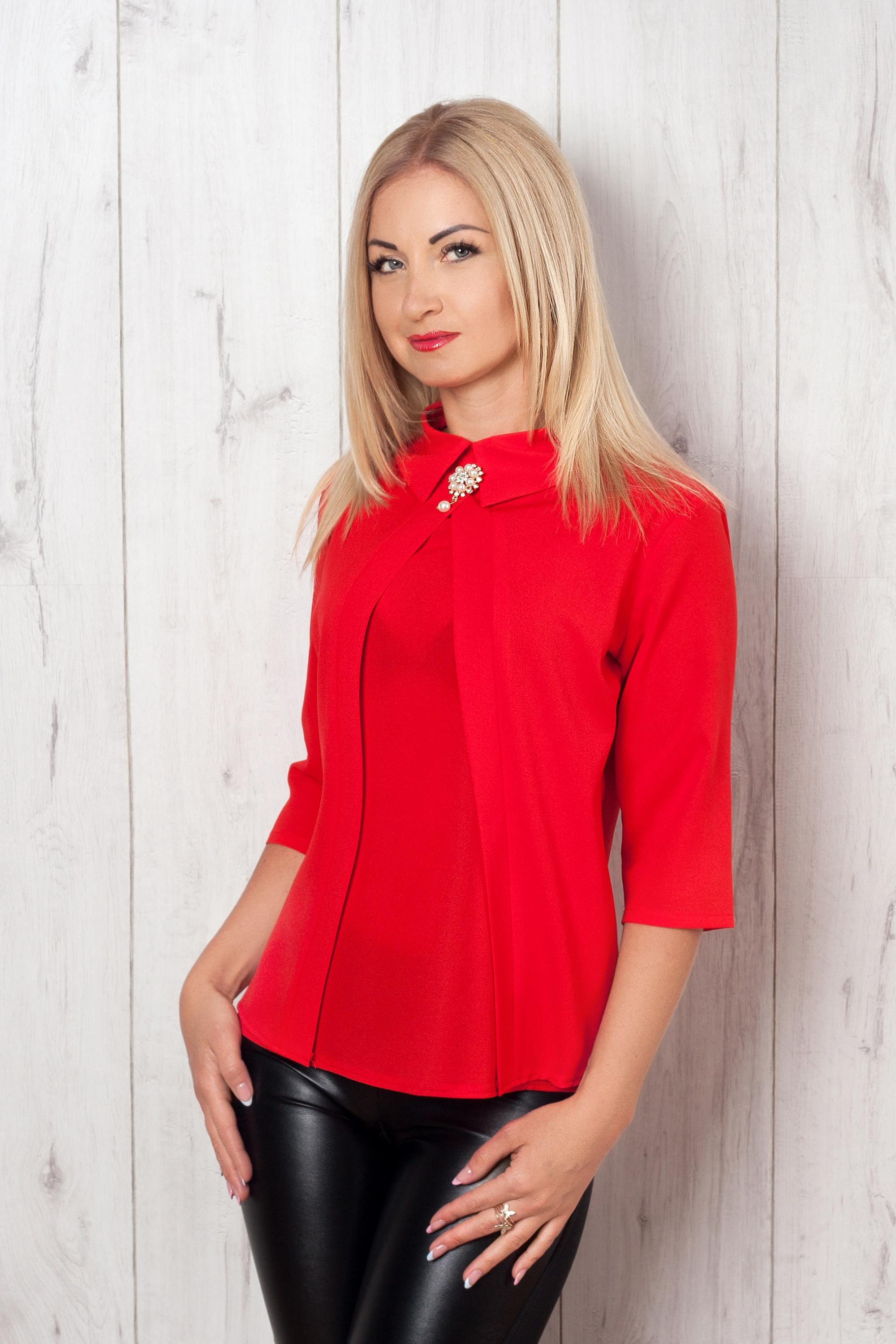 Блузка Женская Красная В Самаре