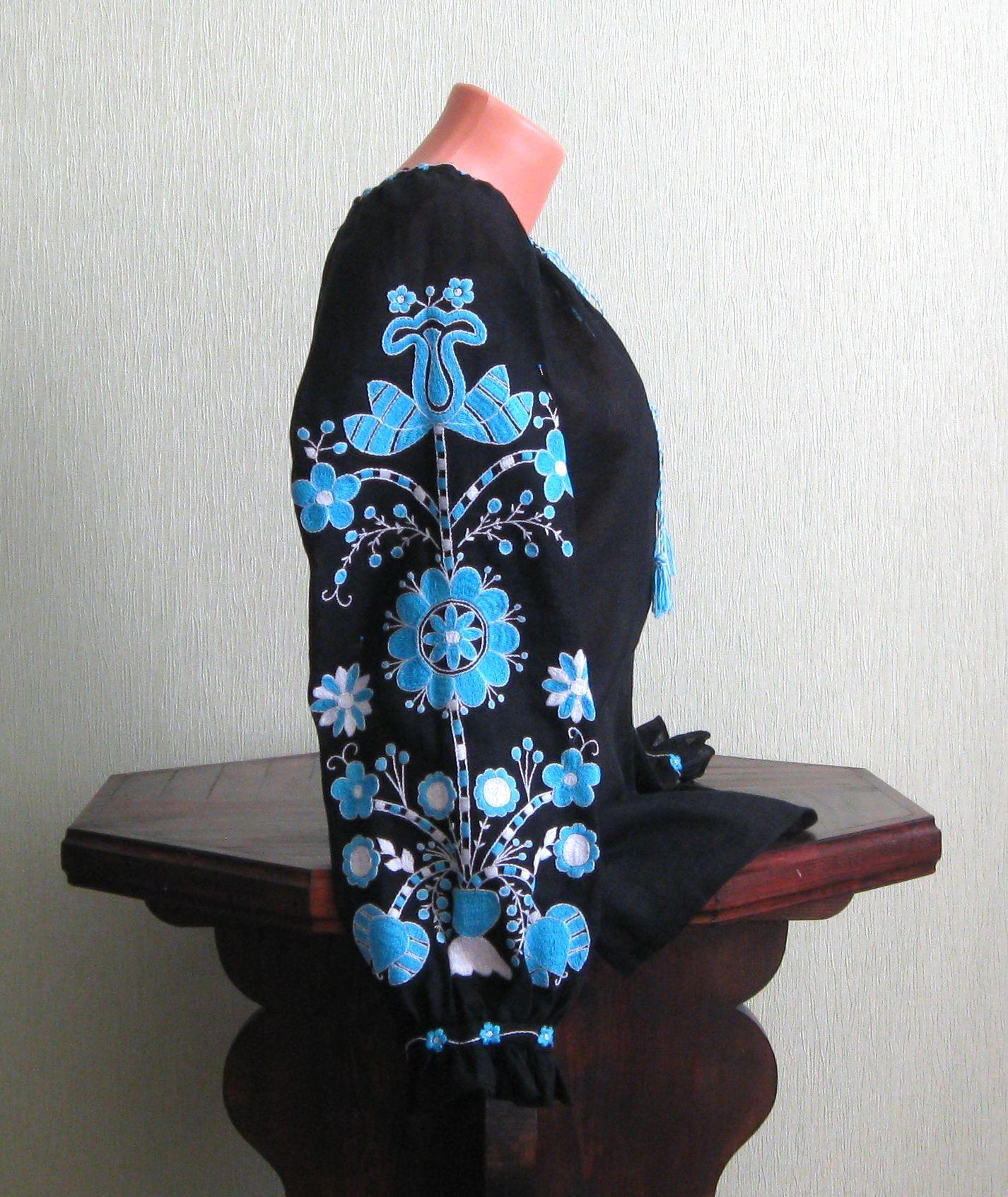 Вишиванка Віти Кін ручної роботи купити - Товари - Вишиванки ручної ... b5ff5283723f7