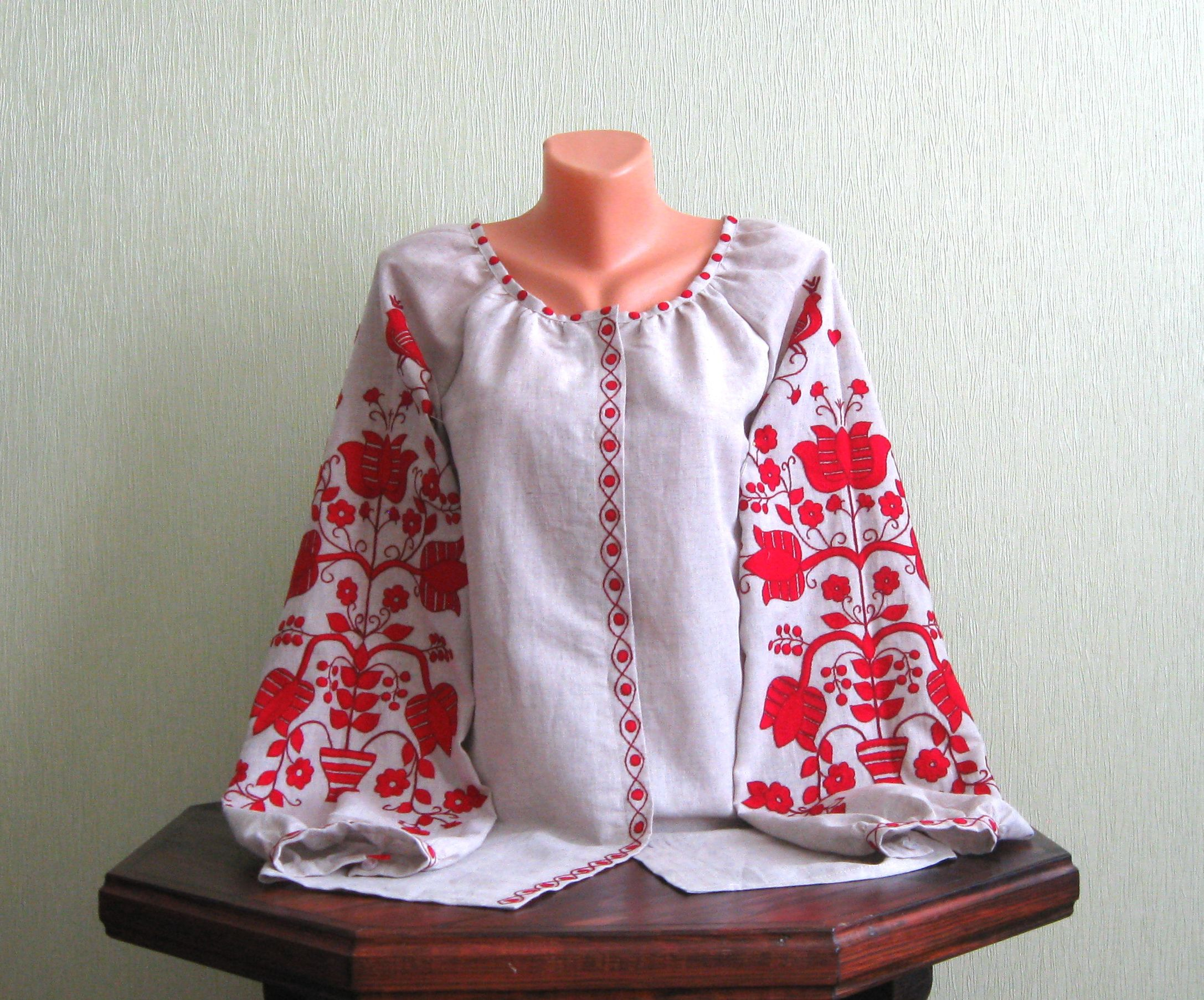 Сорочка вишита жіноча зі старовинним узором