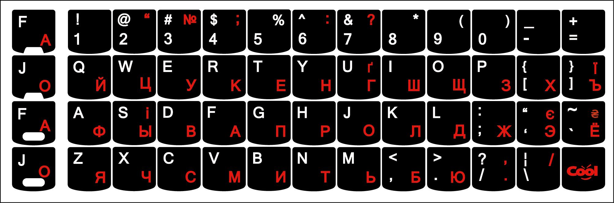 Как сделать англ на клавиатуре