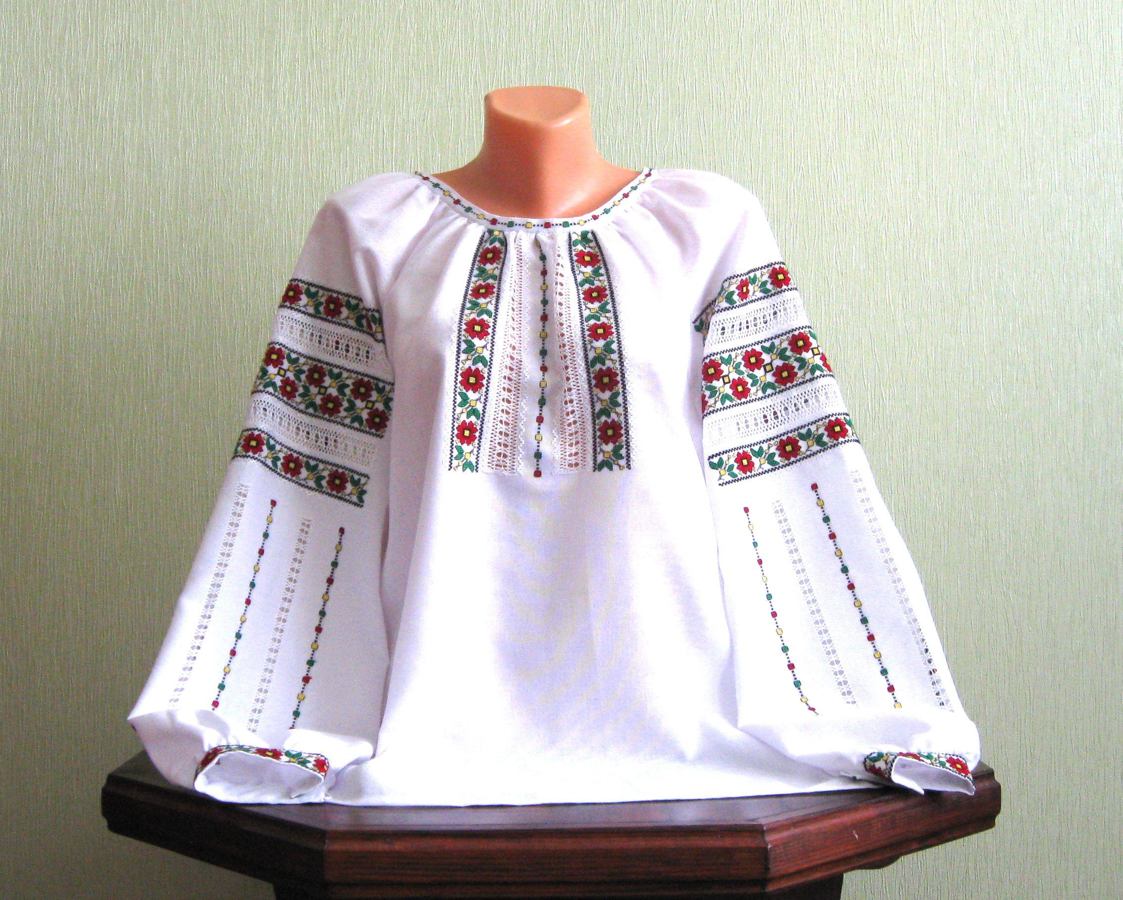Гуцульська вишиванка жіноча ручної роботи ціна 1feff2d395a5f